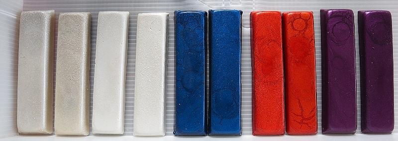 Enkaustické metalické barvy
